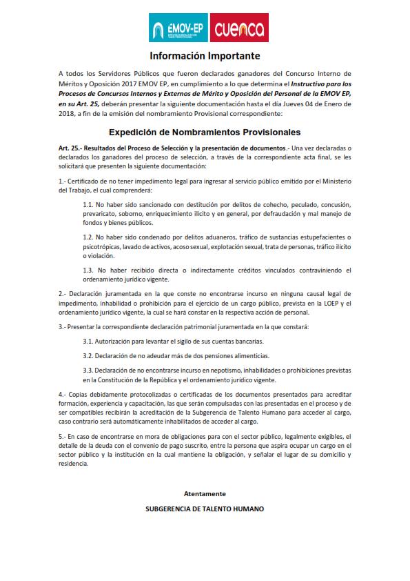 ENTREGA%20DE%20DOCUMENTOS 001 - Concurso interno méritos y oposición 2017